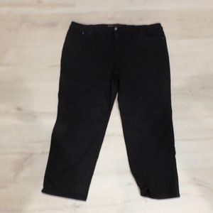 Chicos So Slimming Crop Jeans Black Size 4